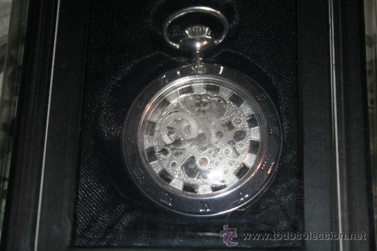 RELOJ DE CUERDA CON BAÑO DE PLATA. COLECCIÓN RELOJES DE EPOCA. Nº 27 (Relojes - Bolsillo Carga Manual)