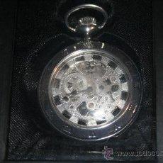 Relojes de bolsillo: RELOJ DE CUERDA CON BAÑO DE PLATA. COLECCIÓN RELOJES DE EPOCA. Nº 27. Lote 26952791