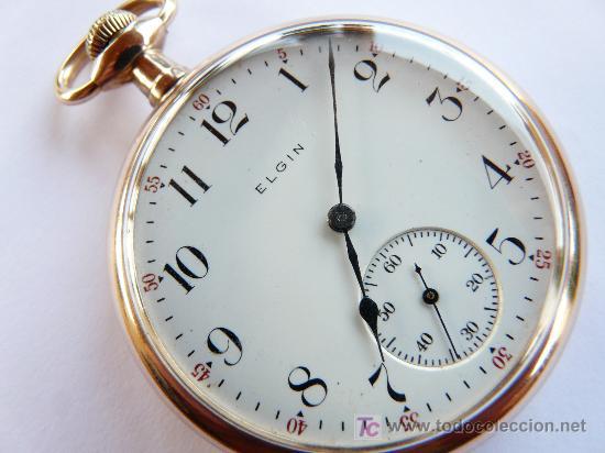 1791900bb 7 fotos RELOJ ELGIN (Relojes - Bolsillo Carga Manual) ...