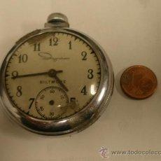 Relojes de bolsillo: RELOJ DE BOLSILLO BILTMORE, FUNCIONA A RATOS, INCOMPLETO. Lote 26632864