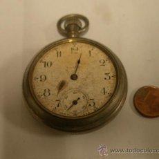 Relojes de bolsillo: RELOJ DE BOLSILLO, INCOMPLETO, NO FUNCIONA, SIN VIDRIO. Lote 16664074