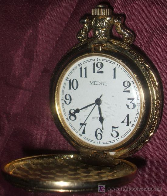 Reloj De Bolsillo Quartz Medal No Es De Cuerda Comprar