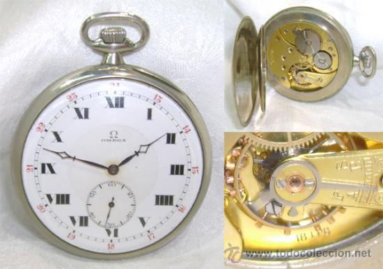precio de fábrica varios colores entrega gratis Antiguo reloj de bolsillo omega totalmente orig - Vendido en ...