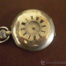 Relojes de bolsillo: RELOJ DE BOLSILLO DARBI AND JOAN CO, SUIZO, FUNCIONA A RATOS. Lote 23736720