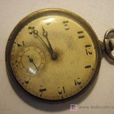 Relojes de bolsillo: RELOJ DE BOLSILLO DE PLATA. Lote 26267217