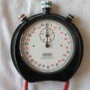 Relojes de bolsillo: CRONOMETRO LEONIDAS HEUER TRACK MASTER A CUERDA. Lote 26763902