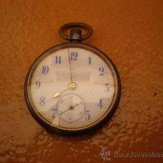 Relojes de bolsillo: RELOJ DE BOLSILLO EN PLATA. Lote 20151478
