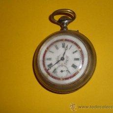 Relojes de bolsillo: RELOJ DE BOLSILLO MUY ANTIGUO . Lote 23535253