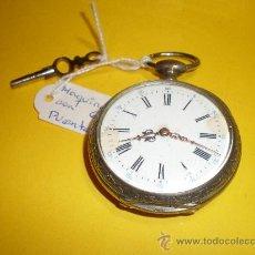 Relojes de bolsillo: RELOJ DE BOLSILLO MUY ANTIGUO. Lote 23535212
