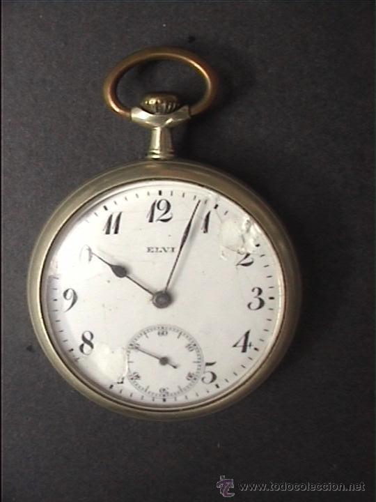 RELOJ BOLSILLO ELVI 45MM DIAMETRO (Relojes - Bolsillo Carga Manual)