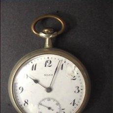 Relojes de bolsillo: RELOJ BOLSILLO ELVI 45MM DIAMETRO. Lote 21654218