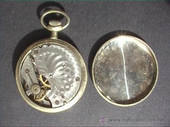 Relojes de bolsillo: RELOJ BOLSILLO ELVI 45MM DIAMETRO - Foto 2 - 21654218
