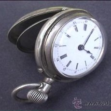 Relojes de bolsillo: RELOJ DE BOLSILLO PLATA 3 TAPAS NO FUNCIONA. Lote 21799894