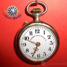 Relojes de bolsillo: ,,,ROSKOPF NIETO PATEN,,,ALPACA,,,FUNCIONANDO Y EN HORA. ( B - 66 ).. Lote 23646257
