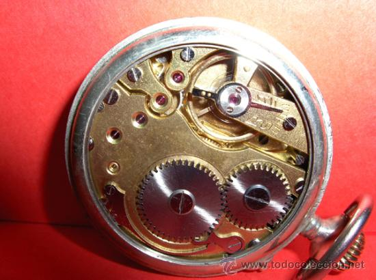Relojes de bolsillo: ,,,ROSKOPF NIETO PATEN,,,ALPACA,,,FUNCIONANDO Y EN HORA. ( B - 66 ). - Foto 3 - 23646257