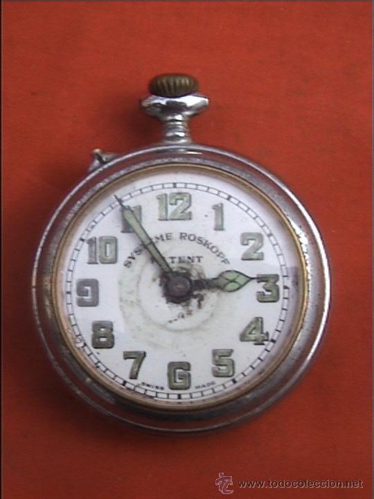 RELOJ BOLSILLO SYSTEME ROSKOPF 45MM DIAMETRO (Relojes - Bolsillo Carga Manual)
