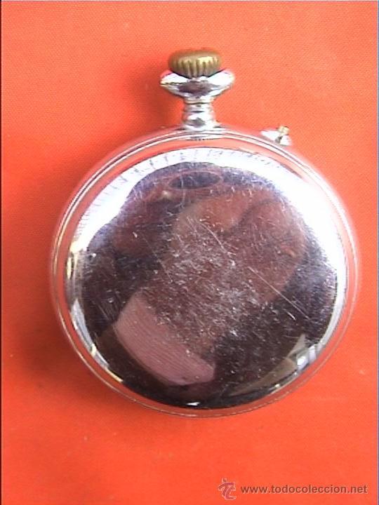 Relojes de bolsillo: RELOJ BOLSILLO SYSTEME ROSKOPF 45MM DIAMETRO - Foto 2 - 22825997
