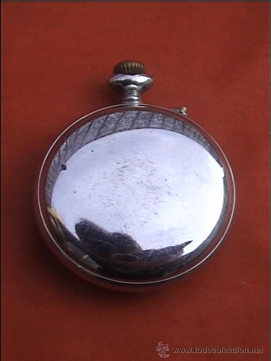 Relojes de bolsillo: RELOJ BOLSILLO SYSTEME ROSKOPF 45MM DIAMETRO - Foto 3 - 22825997