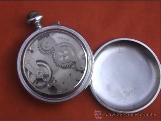 Relojes de bolsillo: RELOJ BOLSILLO SYSTEME ROSKOPF 45MM DIAMETRO - Foto 4 - 22825997