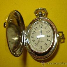 Relojes de bolsillo: RELOJ DE BOLSILLO PLATEADO. Lote 23860020