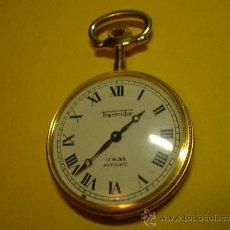 Relojes de bolsillo: RELOJ THERMIDOR 17 RUBÍS ANTICHOC. Lote 23966477