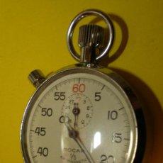 Relojes de bolsillo: CRONÓMETRO MARCA ROCAR 1/5 ANTIMAGNETIC. Lote 23966918
