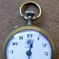 Relojes de bolsillo: RELOJ ROSKOPF , PERFECTO FUNCIONAMIENTO, TIENE UN DESCOLCHON ENTRE 6 - 7 MIDE 45MM. SIN ANILLA. Lote 24227110