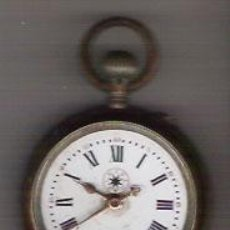 Relojes de bolsillo: ANTIGUO E INTERESANTE PIEZA DE COLECCION, RELOJ DE BOLSILLO MARCA EL SIGLO, ESFERA DE PORCELANA.. Lote 27544286
