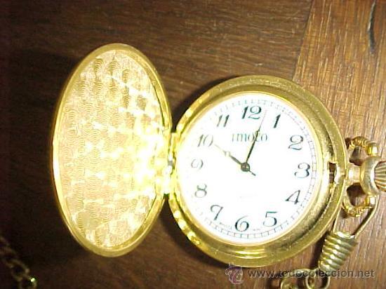 Reloj De Con Venta CadenaImotoQuartz Vendido Bolsillo En bf6g7y