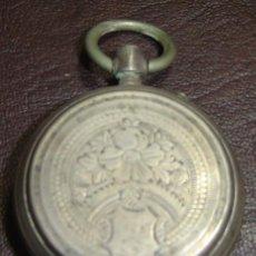 Relojes de bolsillo: RTS-RELOJ BOLSILLO MARCA FERRARY GENEVE Nº 7100 CYLINDRE 10 RUBIS-FALTAN PIEZAS-SIN FUNCIONAR. Lote 27262109