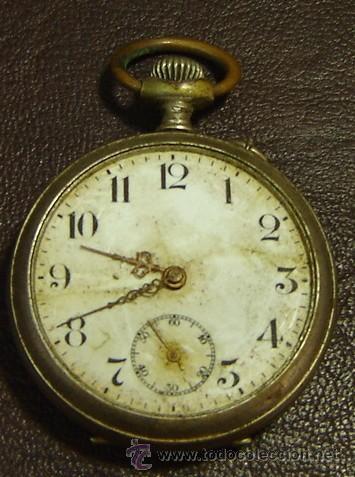 Falta Funcionar L'alouette Cristal De Antiguo Reloj Marca Rts Sin Bolsillo wk8ONXn0P