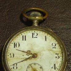 Relojes de bolsillo: RTS-RELOJ DE BOLSILLO ANTIGUO MARCA L'ALOUETTE-FALTA CRISTAL- SIN FUNCIONAR. Lote 27262087
