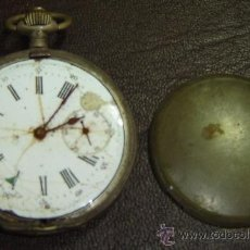 Relojes de bolsillo: RTS-RELOJ DE BOLSILLO ANCRE DE PRECISION 15 RUBIS BALANCIER COMPENSE-FALTAN PIEZAS Y TAPA-SIN FUNCIO. Lote 27262111