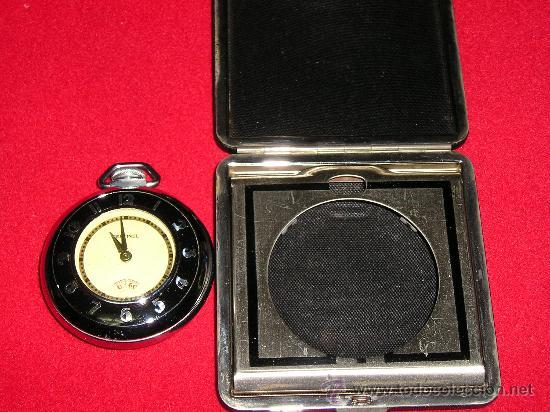 Relojes de bolsillo: PRECIOSO RELOJ DE BOLSILLO EN SU ESTUCHE - Foto 5 - 26690146