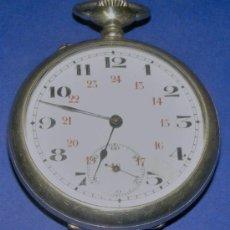 Relojes de bolsillo: RELOJ ANTIGUO , FUNCIONA MUY BIEN , MIDE SIN ANILLA 5 CM. . Lote 86539323