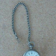 Relojes de bolsillo: BONITO RELOJ DE BOLSILLO EN PLATA, DE S.XIX. . Lote 54373559