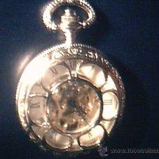 Relojes de bolsillo: RELOJ DE TRES TAPAS. CON CADENA.. Lote 28630241