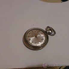 Relojes de bolsillo: RELOJ DE BOLSILLO DOGMA PRIMA ANCRE 17 RUBIS SWISS MADE MIDE LA ESFERA 2,5 CM TOTAL 3 CM. Lote 28927983