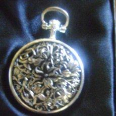 Relojes de bolsillo: RELOJ TALLADO. Lote 29101815