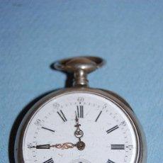 Relojes de bolsillo: RELOJ BOLSILLO EN PLATA. Lote 30078728