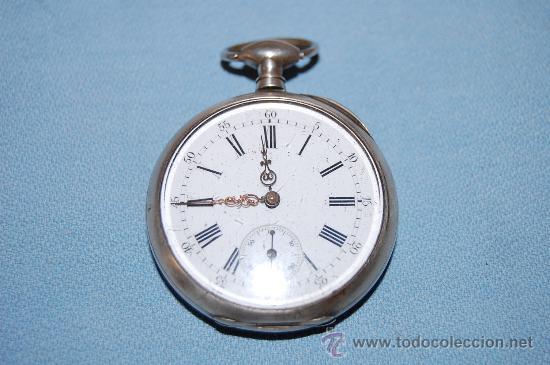 Relojes de bolsillo: RELOJ BOLSILLO EN PLATA - Foto 7 - 30078728