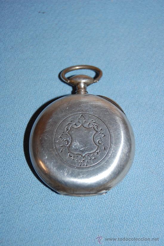 Relojes de bolsillo: RELOJ BOLSILLO EN PLATA - Foto 6 - 30078728