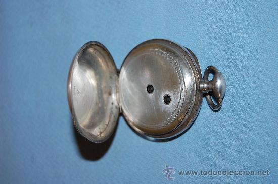 Relojes de bolsillo: RELOJ BOLSILLO EN PLATA - Foto 4 - 30078728