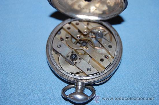 Relojes de bolsillo: RELOJ BOLSILLO EN PLATA - Foto 3 - 30078728