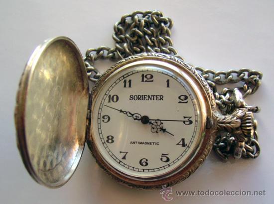 Antiguo Reloj De Bolsillo Chapado De Plata Comprar Relojes