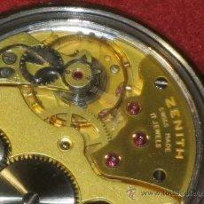 Relojes de bolsillo: OFERTA RELOJ PRECIOSO ZENITH DE BOLSILLO EXTRAPLANO. Lote 30227964