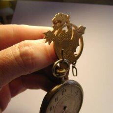 Relojes de bolsillo: ANTIGUO SOPORTE PARA RELOJ DE BOLSILLO, SE TRATA DE UN DRAGON. NO SE INCLUYE EL RELOJ DE LA FOTO.. Lote 30773063