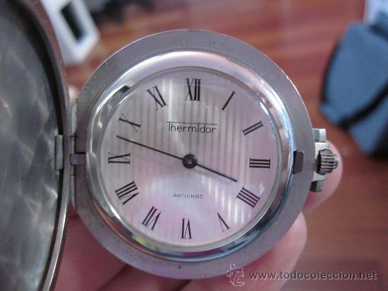 RELOJ DE BOLSILLO THERMIDOR CARGA MANUAL - FUNCIONANDO (Relojes - Bolsillo Carga Manual)