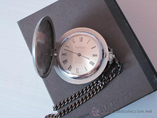 Relojes de bolsillo: RELOJ DE BOLSILLO THERMIDOR CARGA MANUAL - FUNCIONANDO - Foto 2 - 30969437