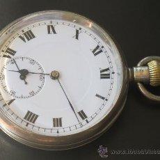 Relojes de bolsillo: RELOJ BOLSILLO - PLATA - FUNCIONA PERFECTAMENTE. Lote 31216169